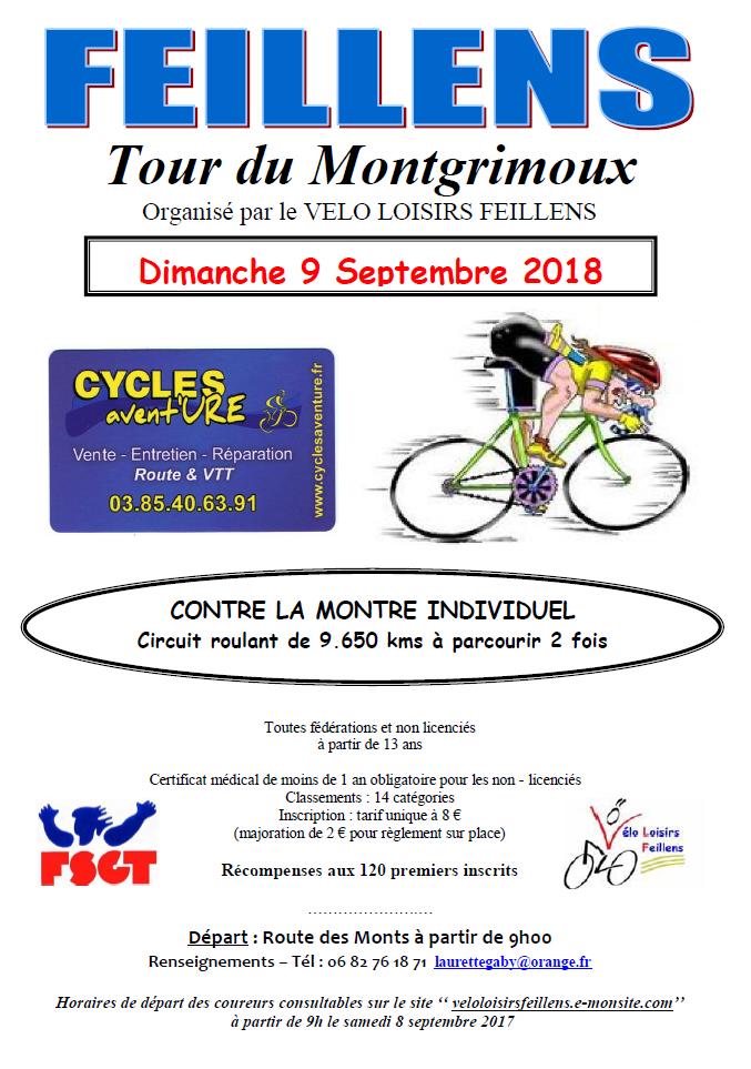 Affiche montgrimoux 2018